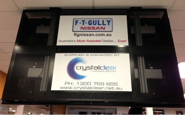 Crystal Clear Video Wall