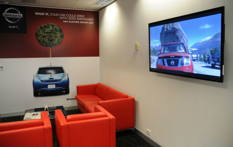 Digital Signage Nissan