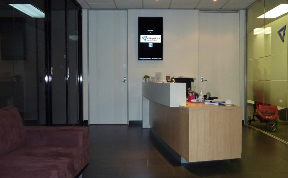 accounting digital signage