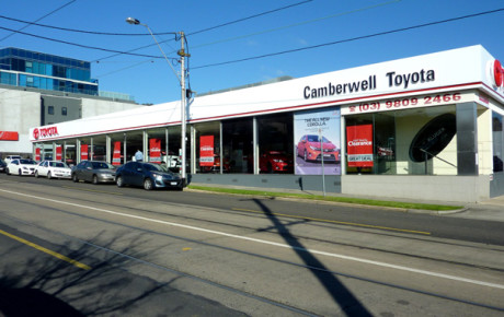 Camberwell Toyota Digital Signage Solution