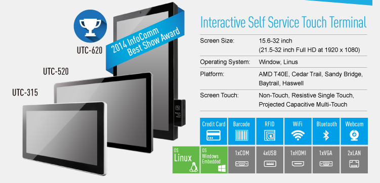interactive digital signage screens