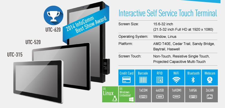interactive digital signage screens