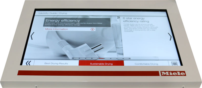 Miele Touch Screen